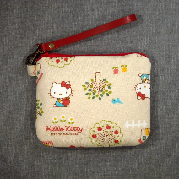 Zipper Pouch - Hello Kitty - Last One