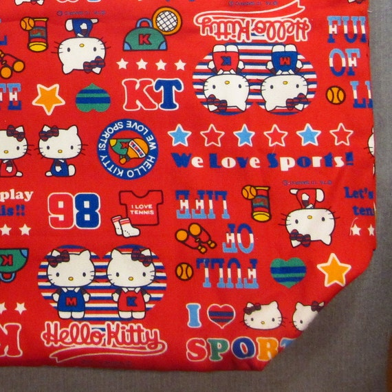 Hello Kitty Sports Bag - OOAK - Reserved