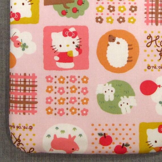 CLEARANCE SALE Kindle Padded Sleeve - Hello Kitty on the Farm - Last One