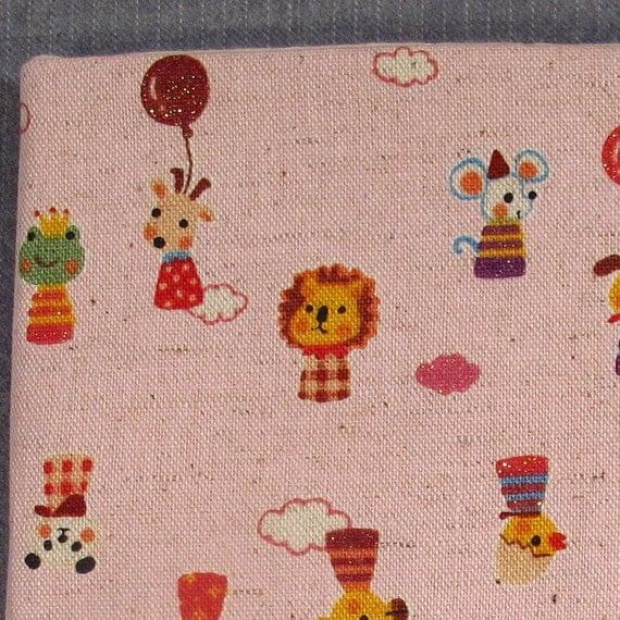 SALE 75% OFF Kindle Padded Sleeve - Kawaii Animals (pink) - Last One