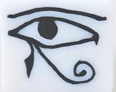 Polymer clay Egyptian eye cane