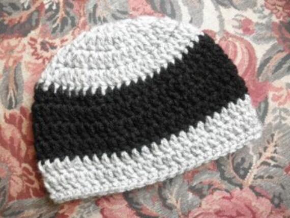 Oakland RAIDERS Baby Hat Team Colors - Cap REVERSIBLE