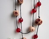 Red and Terracotta necklace
