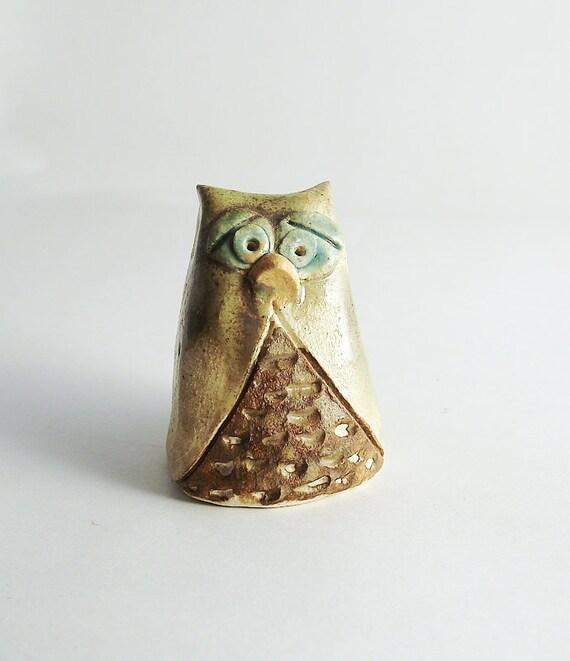 Ceramic toy - Wise Owl