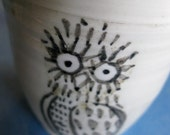 white owl cup