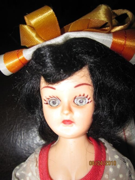 vintage Spanish doll with closing eyes