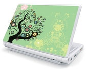 Netbook Skin Girly Tree