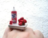 Strawberries And Whip Cream  Ring