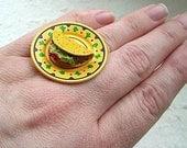 Kawaii Cute Japanese Ring- Mexican
