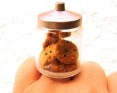 Cookie Jar Ring Miniature Food Ring