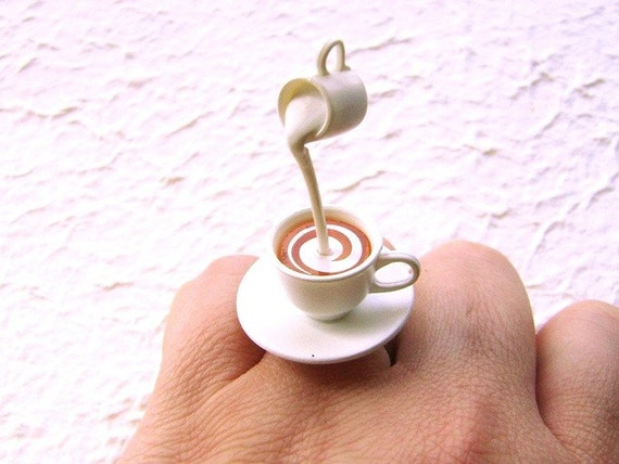 Food Jewelry uk Food Jewelry Floating Ring