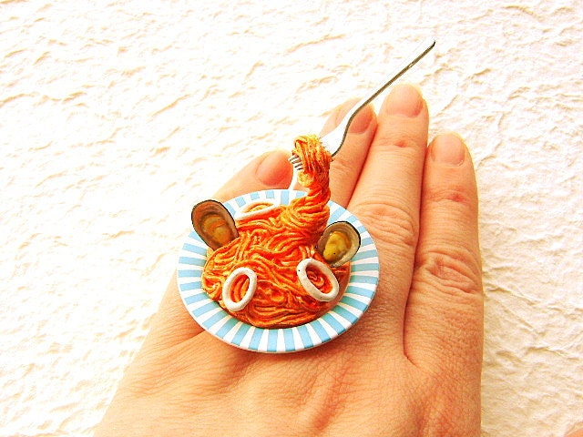 Quelle Couleurs Associer Avec Le Taupe : Kawaii Cute Japanese Food Ring Floating Ring by
