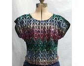 Vintage 70s Galaxy of Stars and Wonderlust Shirt