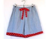 Vintage Mary Anne 70s Shorts Medium Large