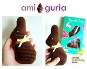 Amigurumi Chocolate Easter Bunny