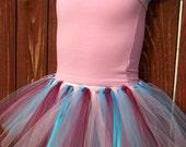 Pink, Blue, Burgundy Playtime Tutu  Dress Up Fun