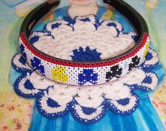 Beaded Headband boho ethnic cutie
