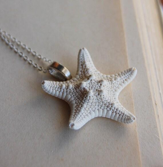 Miniature Starfish Necklace