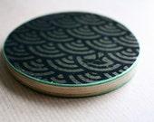 Recycled Skateboard Harajuku Love Pocket Mirror