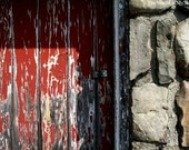 Rustic Red Barn, Door 3 - Untold Stories - TheWorldIsMyStudio