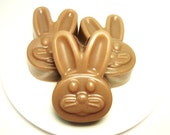 Chocolate Easter Bunny Shea Butter Soap  -- Feel That Basket With Something Different This Year