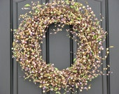 Outdoor Wreaths - Spring Blessings Wreath - Berry Wreaths