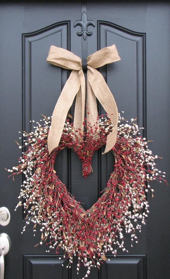 Wedding Wreath I Adore You Wedding Decorations By Twoinspireyou