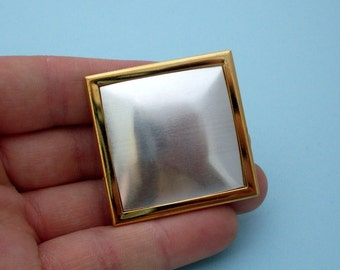 Gold Square Pin Setting Frame Mounting 109GT