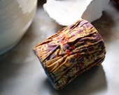 Amber on the Beach, a cuff by LaTouchables