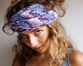 Lavender Fields, a Skinny Scarf by LaTouchables