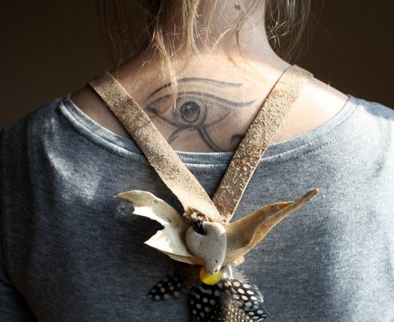 Rules of the Wild, an Art Necklace