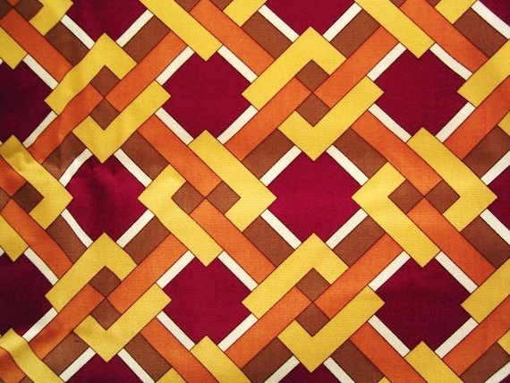Destash. Laurie Smith Cotton Upholstery Fabric 2 yards ... free US shipping