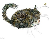 Black Cat - Art Print.