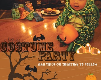 Printable Costume Party Invitation