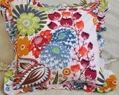 Decorative Pillow Cover 16x16 inch Lou Lou Thi Summer Totem Anna Maria Horner Ruffled