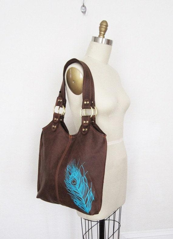 Peacock bag - as seen on Kristen Stewart