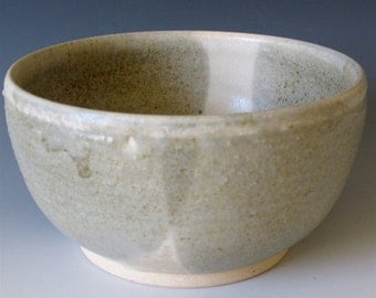 Small Bowl. Stormy Blue and Cream
