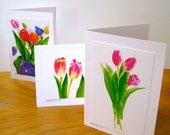 Fine Art Greeting Cards Tulip Collection