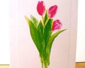 Fine Art Greetings One Tulip Card