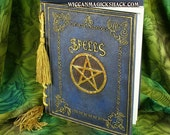 Wiccan - Witch Blank Book of Shadows and Spells with Pentagram on front from Nemesis Now FREE SHIPPING IN THE USA