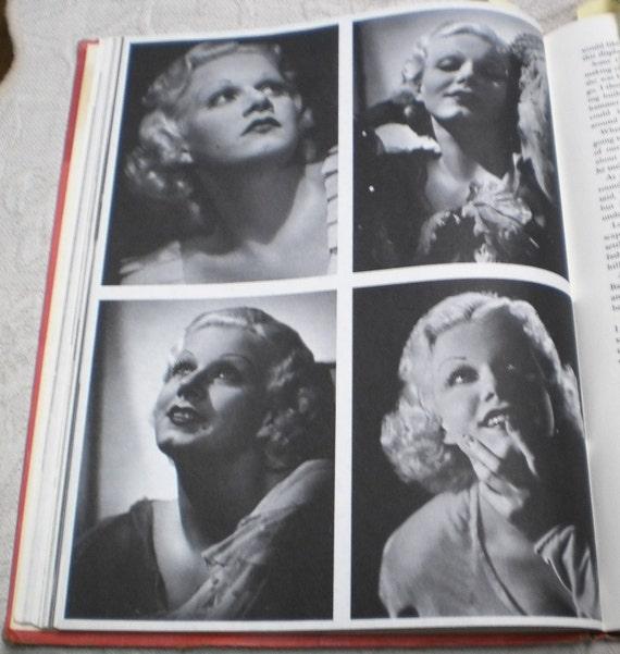 Vintage Hollywood Movie Star Photo Book Garbo Harlow Sinatra