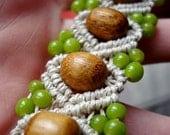 Reserved - Alice - Hemp Bracelet