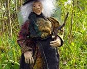 Faerie Garden Mother - OOAK Fairy Sculpture - Art Doll