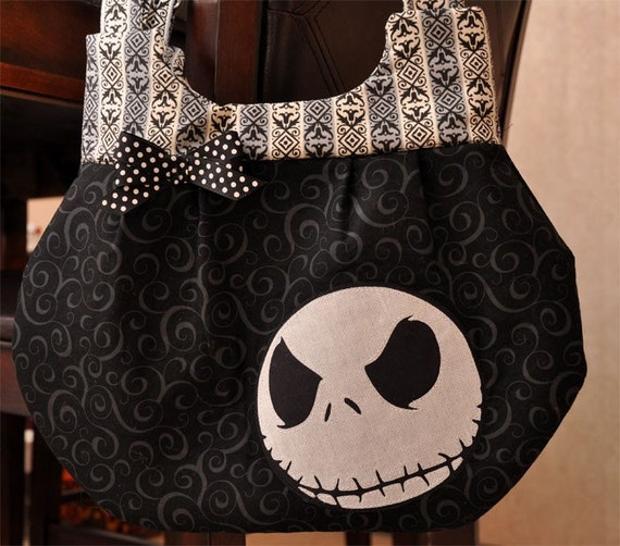 The Skeleton Bag - Design Two - Nightmare Before Christmas Inspired