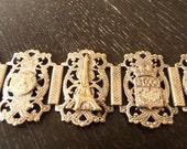 Vintage Paris Tourist Bracelet, Alice Riordan Estate Jewelry