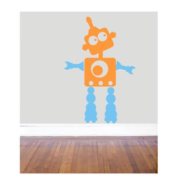 SCRAP ROBOT VINYL Decal - 18x26 inches - fun and customizable