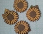 Embellishments - Fall Sunflowers
