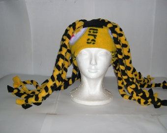 Fleece Dreadlock Hat (Pick your own solid colors)
