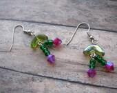 SALE Retro Cherry Dangle Earrings V2