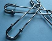 "3 Kilt Pins 3"" length for Kilts, Garments, Jewelry or Costume Design"